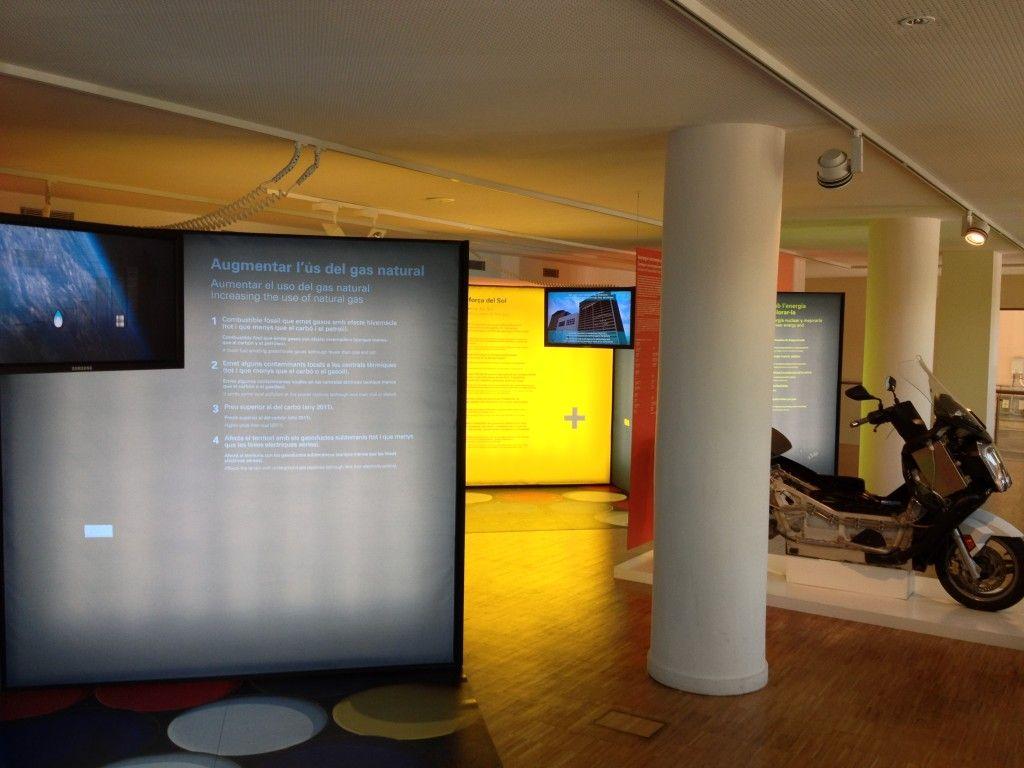 Exposión 2 en el Museu del Gas