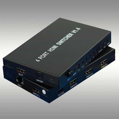 RO&CO HSW0401 Selector Hdmi