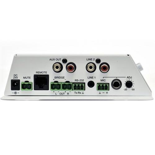 Amplificador estéreo compacto Ecler CA40 Conexiones