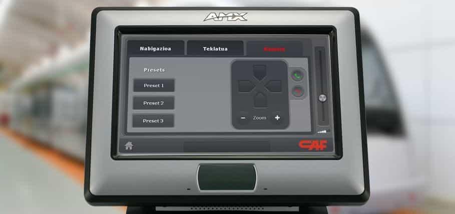 Programación AMX Caf