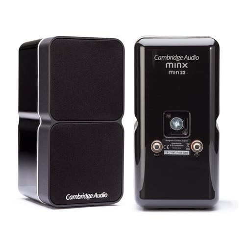 Altavoz satélite Cambridge Audio Minx 22 color negro