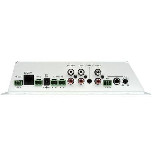 Amplificador estéreo compacto Ecler CA120 Conexiones