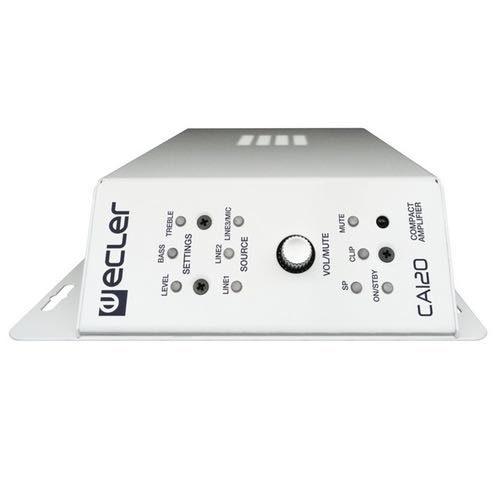 Amplificador estéreo compacto Ecler CA120 Lateral
