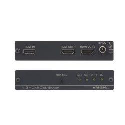 Distribuidor HDMI Kramer VM-2Hxl Frontal y parte trasera