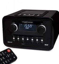 Radio con Cd Tangent Alio BAZE Mono CD:DAB+:FM:BT Color negro