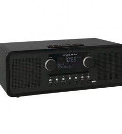 Radio con Cd Tangent Alio BAZE Stereo CD:DAB+:FM:BT Color negro