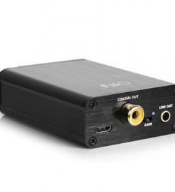 Dac y amplificador de auriculares FIIO OLYMPUS 2 E10K Parte trasera