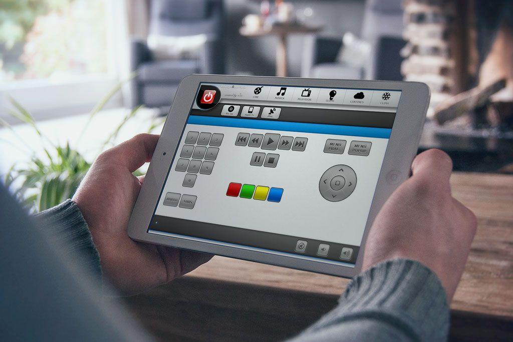 Control con iPad de Sala de Cine