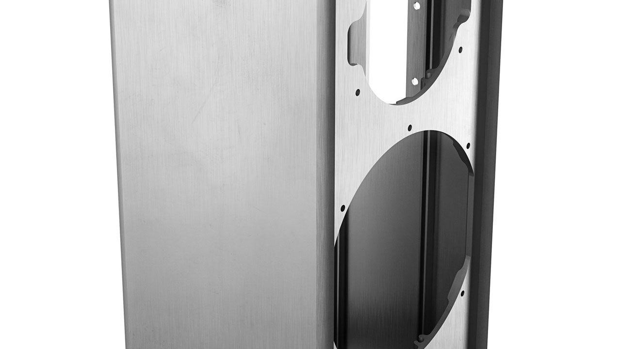 Caja de aluminio del Dali Kubik Free
