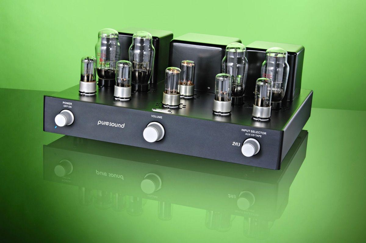 Amplificador a válvulas 2A3