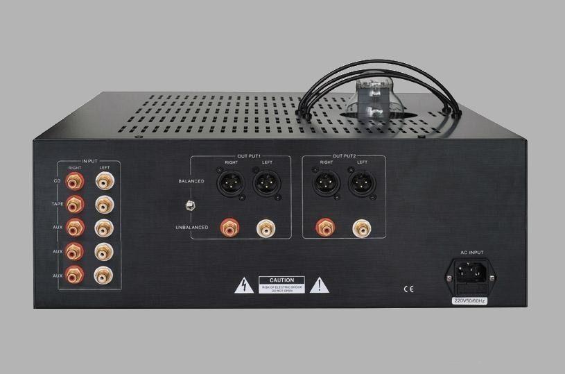 Parte trasera del Puresound L300