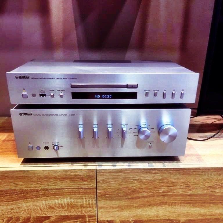 Yamaha A-S301 con CD-S300