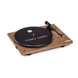Como Audio Bluetooth Turntable Color Nogal