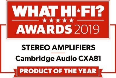 What Hi-Fi? Cambridge Audio CXA81 Producto del año 2019