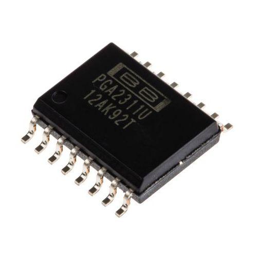Chip integrado de control de volumen Burr-Brown