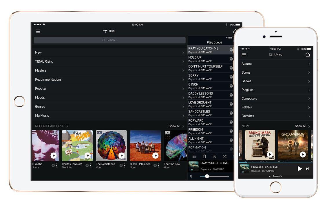 Interfaz de la App BluOs Controller