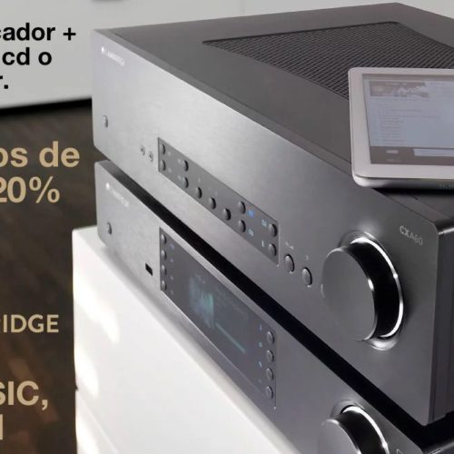 Promoción Cambridge Audio Love Music Be Hifi