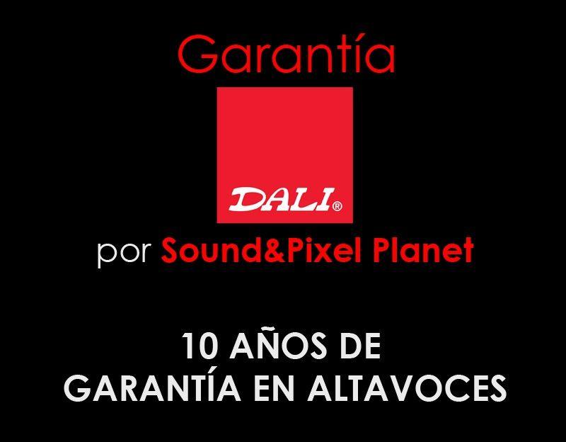 10 años de garantía en altavoces Dali