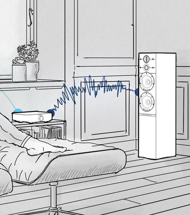 El Dali Sound Hub transfiere sonido sin cables