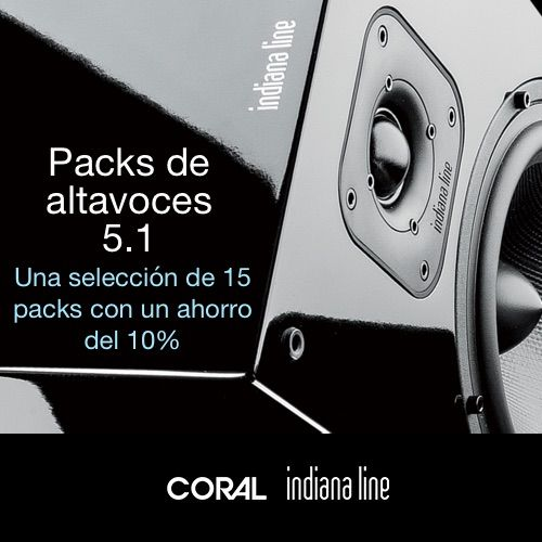 Packs 5.1 de Indiana Line