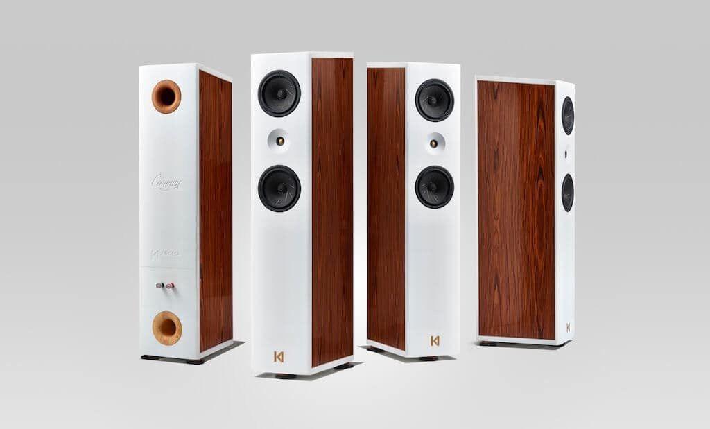 Columnas de Kroma Audio