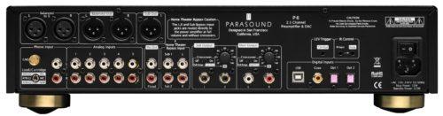 Parasound P 6 Parte Trasera