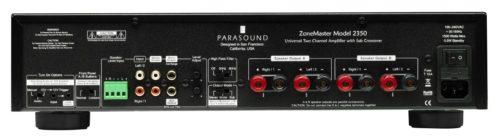 Parasound Zonemaster 2350 Parte Trasera