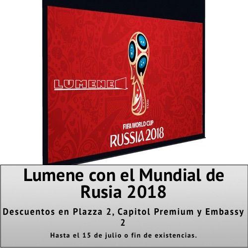 Lumene con el Mundial de Rusia 2018