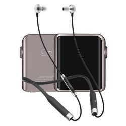 Shanling M0 Titanio con RHA MA650 Wireless Negros
