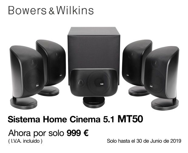 Sistema Home Cinema 5.1 Mt50